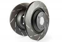 EBC USR Series Fine Slotted Brake Discs (PAIR) (REAR) To Fit Rear